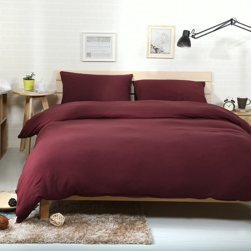 Dark Red Bed Sheets