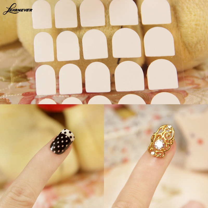 LEARNEVER Wholesale Generation Two sided Stick Fake Nails Special ...