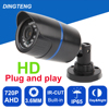 AHD Camera 720P 1 0MP Bullet Waterproof Night Vision Out Indoor IP65 Waterproof Security Camera CCTV