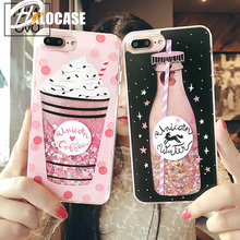 For iPhone 11 Pro MAX 7 XS XR 8 6 6S PLUS Phone Cover Liquid Water Soft Silicone Dynamic Glitter Quicksand Case