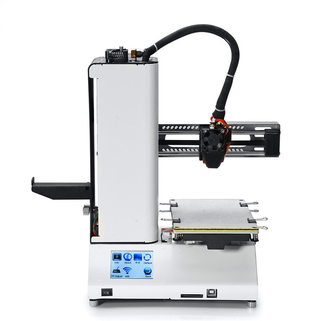 Portable Mini CNC 3d Printer Full Assembled Auto-Leveling 3d Printer Colors Touch-screen STM32 Processor with 1 Spool Filament