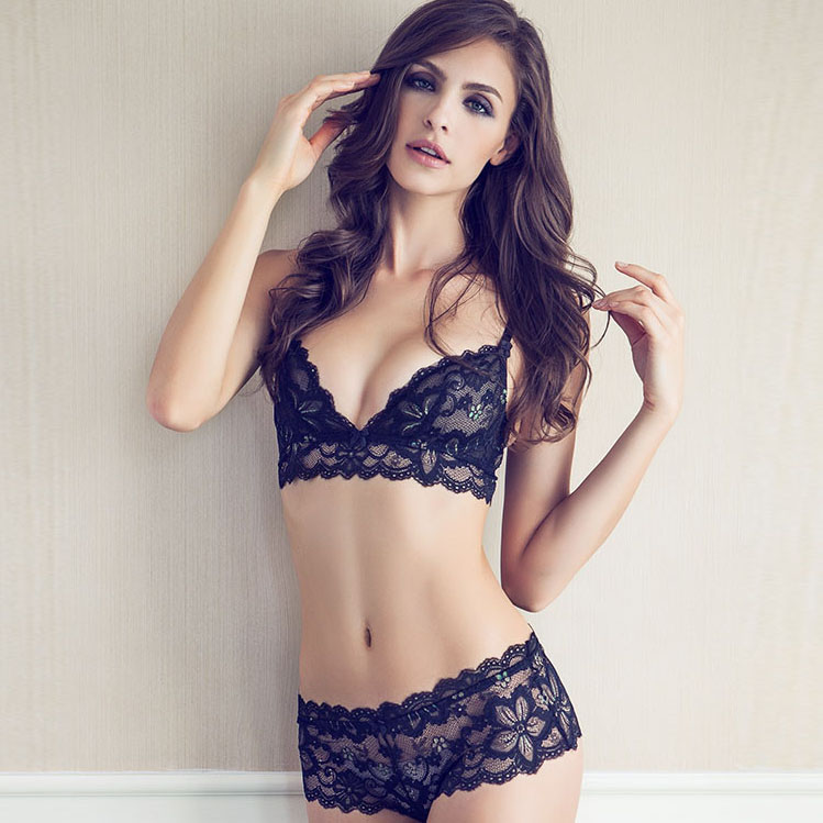 f8734e5facc Luxury Sexy Sheer Thin Lace Bralette/ Bra Set/Panties/Lingerie Free Shipping  yw006-in Bra & Brief Sets from Women's Clothing & Accessories on  Aliexpress.com ...