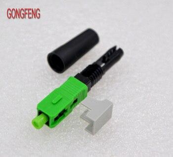 GONGFENG 100 Adet YENI SıCAK SATıŞ SC/APC Fiber Optik Hızlı Bağlantı FTTH Gömülü Fiber Optik Hızlı Bağlantı Özel Toptan