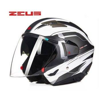 Casque De Moto Zeus Ouvert Livraison Gratuite équipement De
