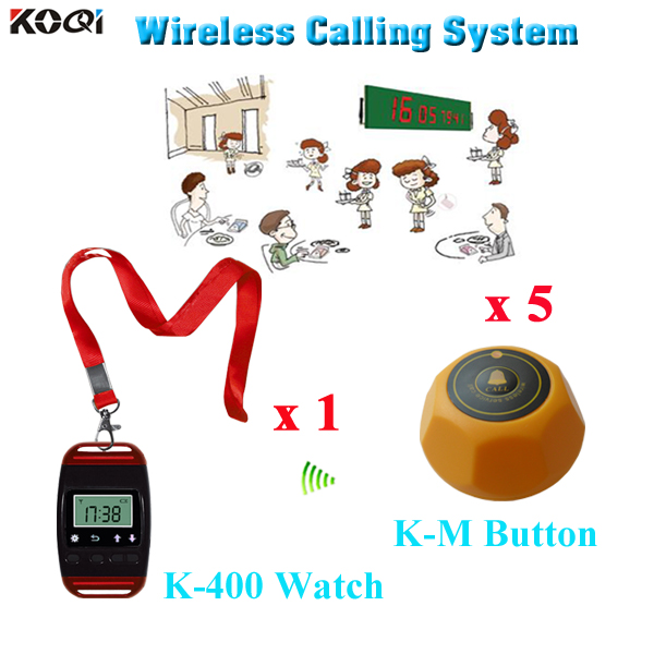 Wireless Communication System For Restaurant With CE Passed From - Restaurant table supplier
