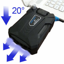 Buy Laptop cooler laptop cooling pad notebook master with adapter copper ice portable External speed cooler cooling for laptop directly from merchant!