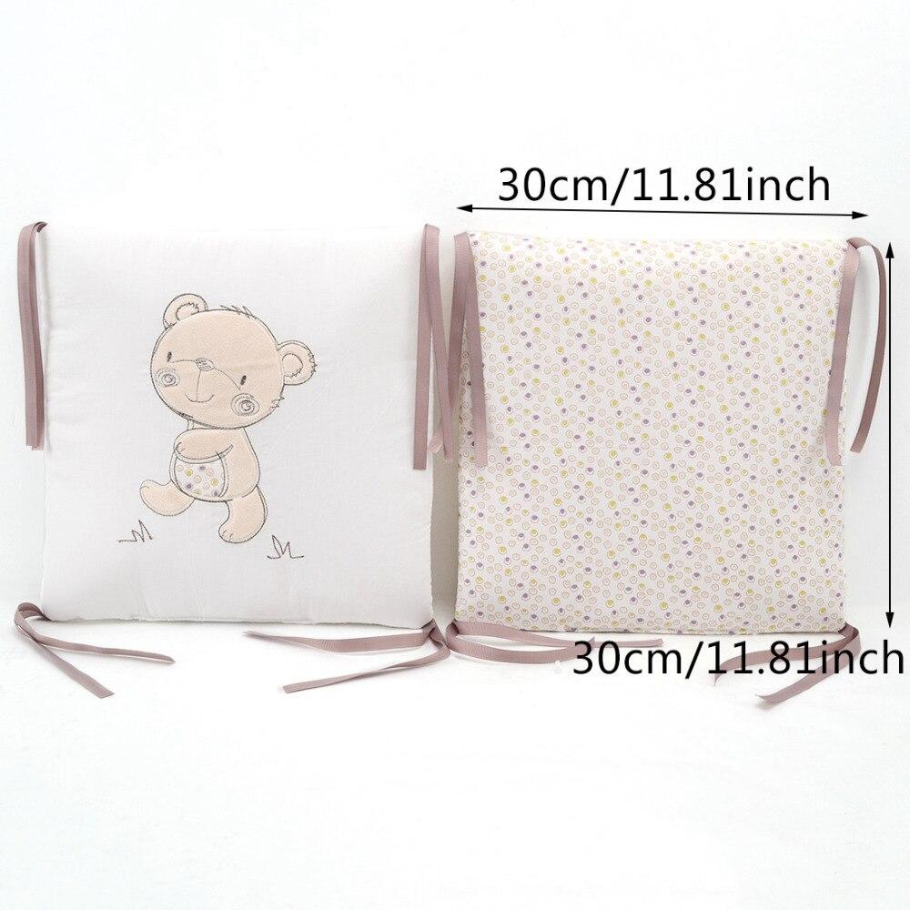 6 Stks / partij Babybed Bumper Katoen Blend Baby Beddengoed Set voor - Beddegoed - Foto 6