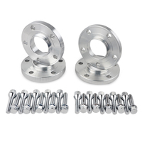 4PCS 15/20mm Hub Centric Wheel Spacers M12x1.5 W/ Lug Bolts For BMW E90 E91 E92 E93 E24 E63 E64 E28 E34 E31 E23 E32 W38 E52 M85