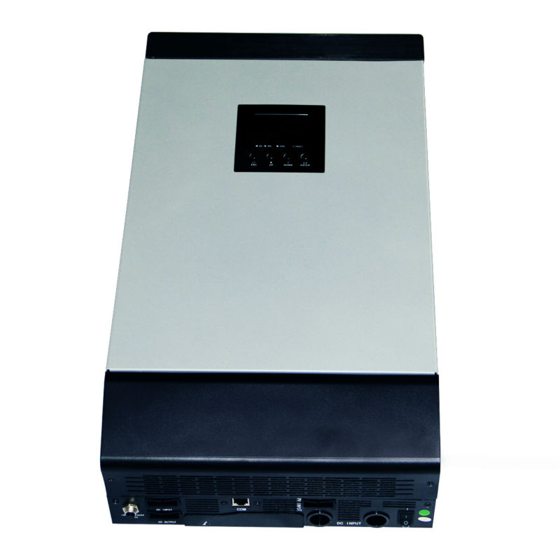 48VDC 5000VA Peak Power 10000VA Pure Sine Wave Solar Hybrid Inverter Built-in 60A MPPT Controller With Communication LCD maylar 12vdc 1000va peak power 2000va pure sine wave solar hybrid inverter built in 50a pwm controller lcd display