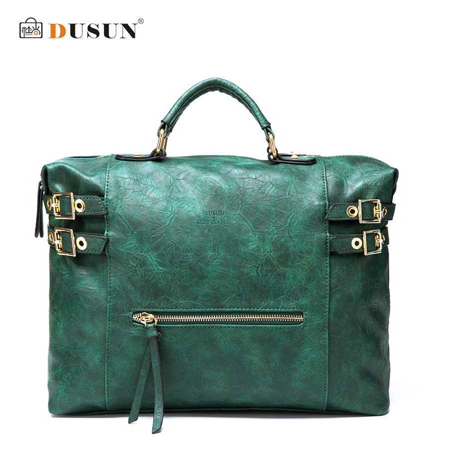 DUSUN Vintage Gradient Color Women Handbag High Quality Shoulder Bags Women Fashion Messenger Bag Luxury Brand Ladies Totes  new fashion vintage high quality women bag women messenger bags handbag shoulder bags dollar price