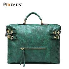 Dusun vintage farbverlauf frauen handtasche hohe qualität umhängetaschen frauen mode messenger bag luxury brand damen totes