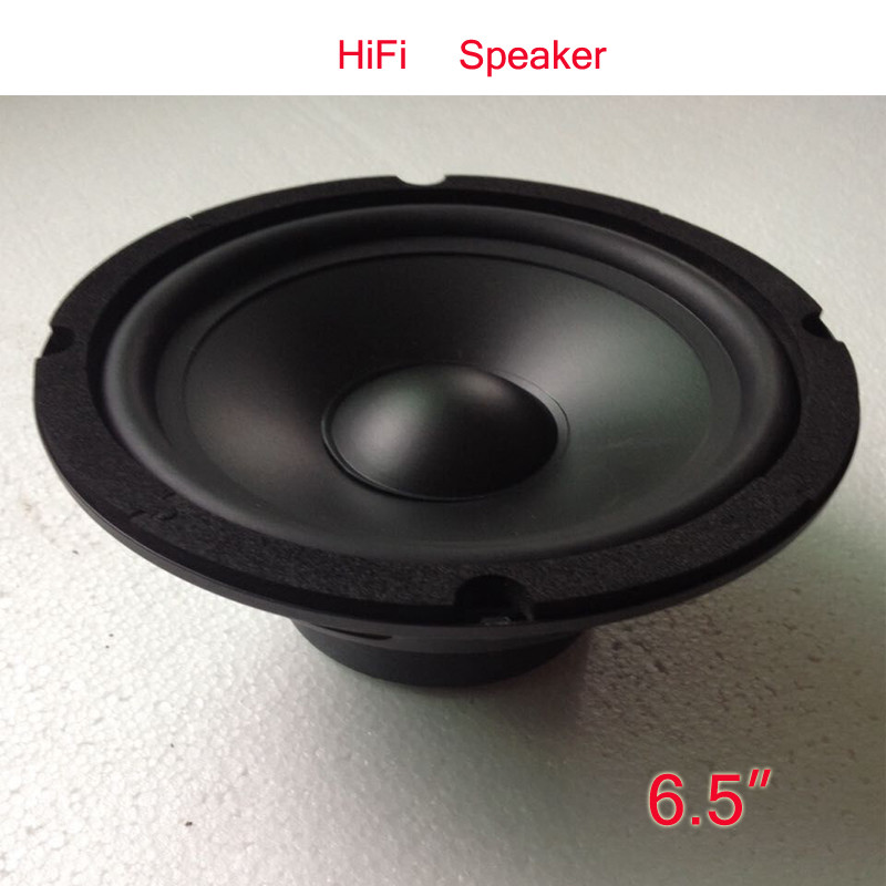 PA Hifi Round Speaker, 6.5inch 300watts Midrange Speaker, KARAOK Home Full Range Speaker Woofer h 019 fountek fr88ex full range 3 inch hifi speaker amplifier speaker hot sale 84 3db 1w 1m