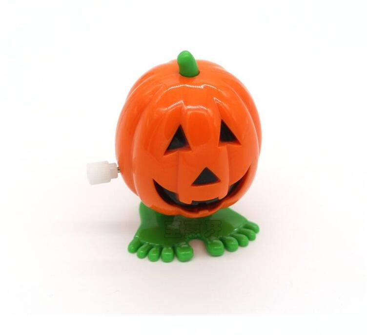 Painstaking Iwish Hot Halloween Wind Up Cushaw Jump Pumpkin Winding Jumping Squash Gifts Toy For Children Cuaurbit Baby Toys All Saints Day Classic Toys