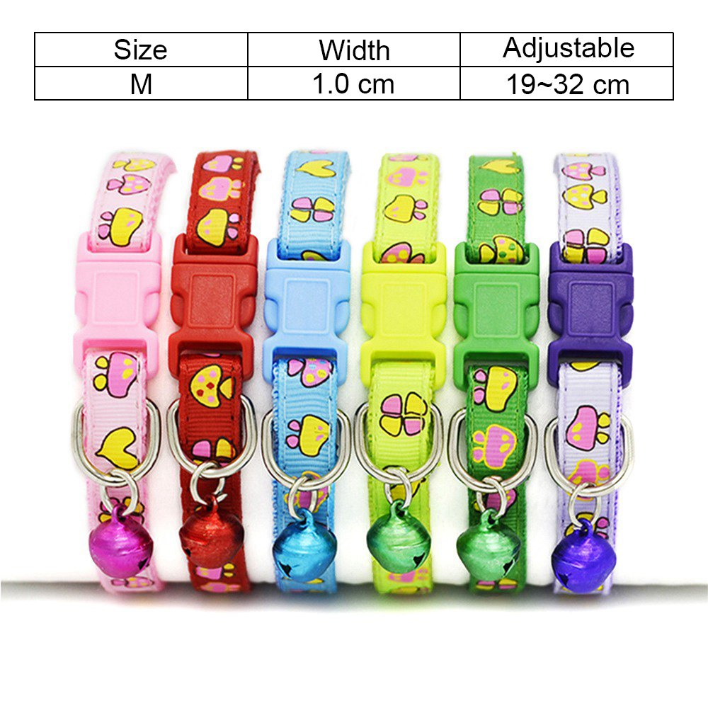 9 Cat Collar Breakaway Collar For Cats With Bell Cat Collars Adjustable Quick Release Puppy Collar Chihuahua Cat Leash Pet Product (11)