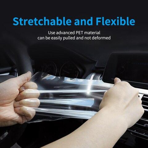 pelicula protetora para painel de instrumentos automotivos