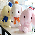 New White Pink Color 40cm Lovely Bunny Stuffed Rabbit  Baby Plush Soft Toys Rabbit Plush Doll for Kids Christmas Gift A72