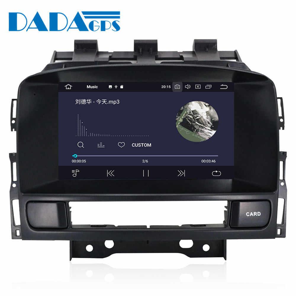Новые Android 9,0 dvd-плеер автомобиля для Opel Vauxhall Holden Astra J радио android 2010-2013 CD300 CD400 gps навигационная карта PX5