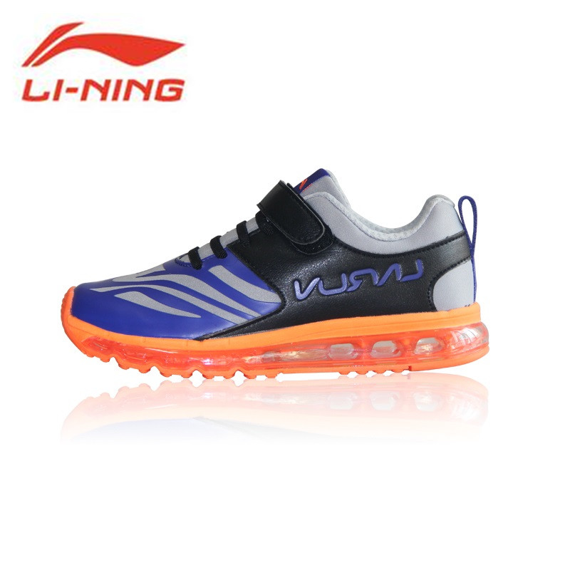 Ling-Ning Original Kids Sneakers Children Cushioning Running Shoes Arc Light Sneakers Soft Footwear Classic Sports Shoes YKFM012 kelme 2016 new children sport running shoes football boots synthetic leather broken nail kids skid wearable shoes breathable 49
