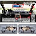 Câmera Traço Cam Dupla Lente Dianteira Do Veículo DVR Traseira do carro Gravador de Vídeo HD 1080 p