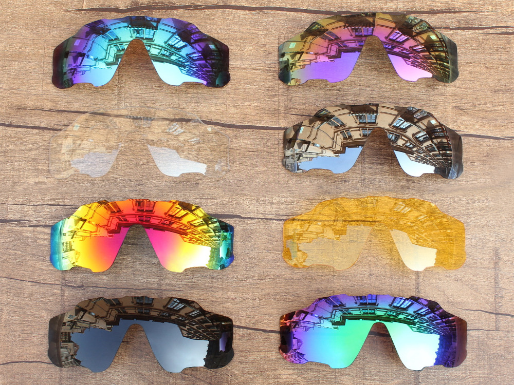 PapaViva POLARIZED Replacement Lenses for Authentic Jawbreaker Sunglasses 100% UVA & UVB Protection - Multiple Options