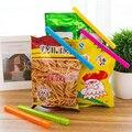 2016 New 5pcs/lot Bag Clips Food Fresh Keeping Plastic Food Close Clip Home Storage Organization Kitchen Tool Food Snack Sealing