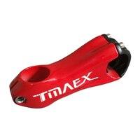 TMAEX Red Glossy Carbon Stem Full New 10 Degree Carbon Bicycle Stem Road Bike Carbon Stems MTB Bike Stem 31.8mm*110/120mm