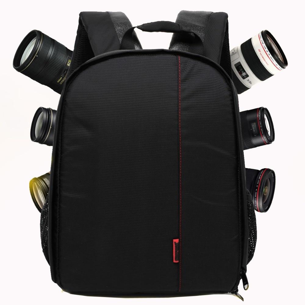 High Quality Digitale Dslr Camera Bag Waterdichte Fotorugzak Merk Fotografie Camera Video Tas Kleine Reizen Camera Rugzak