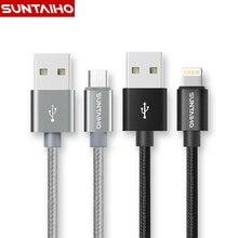 Mini/samsung suntaiho быстрой металлические зарядки plus ipad нейлон micro s кабель