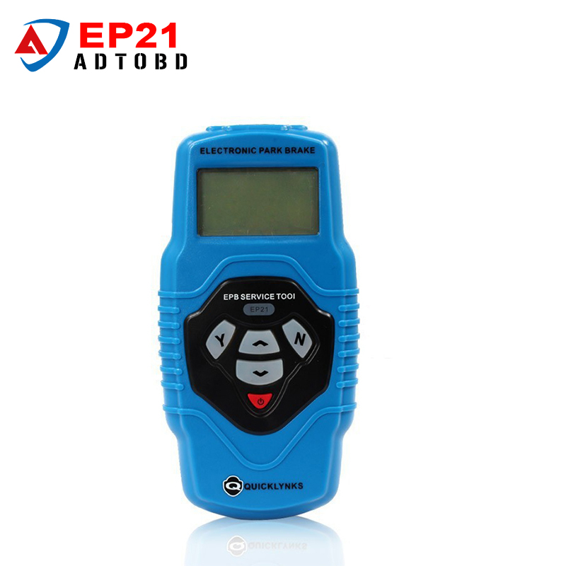 2017 New arrival Auto code reader Electronic Parking Brake EPB EP21 Service Tool One Year Warranty Code Scanner free shipping electronic parking brake epb service tool ep21 multilingual updatable one year warranty