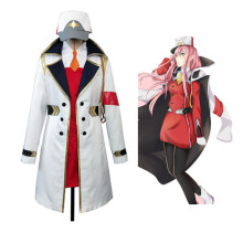 Anime Darling in the Franxx zero two cosplay costume Long co