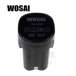 WOSAI 16 V Perceuse sans fil Batterie Au Lithium Batterie De Remplacement Applicables Forage Modèle WS-3015