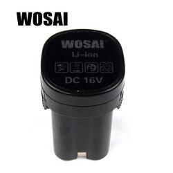 WOSAI 16 V perceuse sans fil batterie de remplacement de batterie au Lithium modèle de perceuse Applicable WS-3015