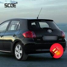 Для Toyota Auris Hiace Prius SCOE 2 x супер яркая Тормозная Стоп лампа светильник лампа для стайлинга автомобилей