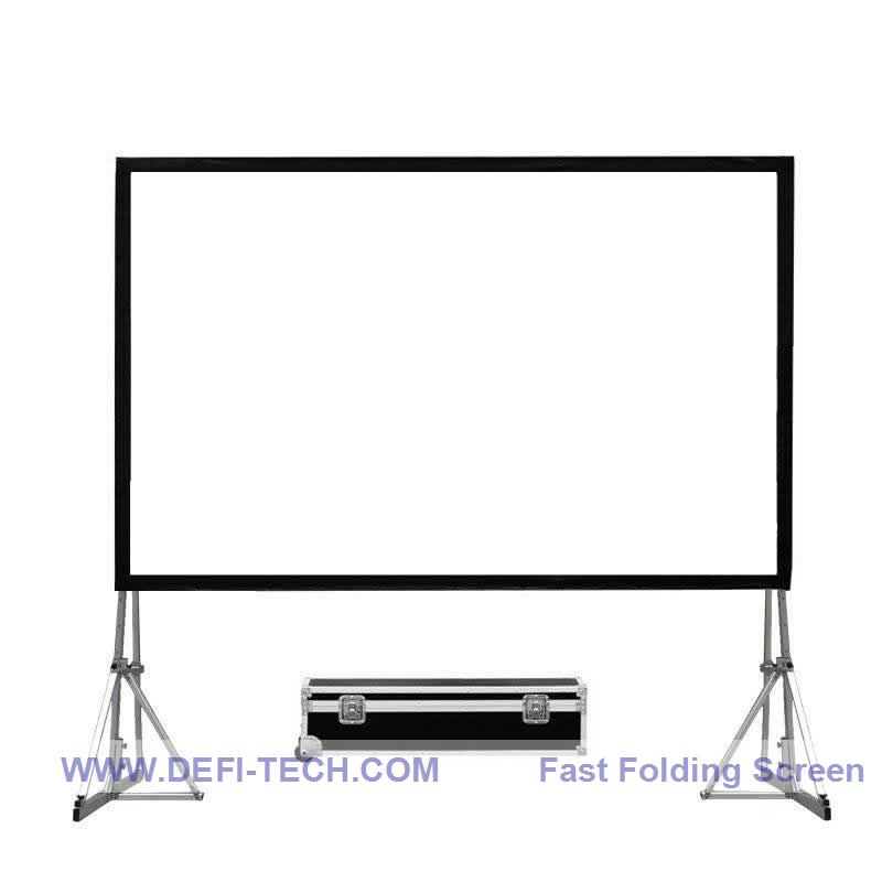 Comprar nuevo plegable rápido Marcos pantalla del proyector 180 ...