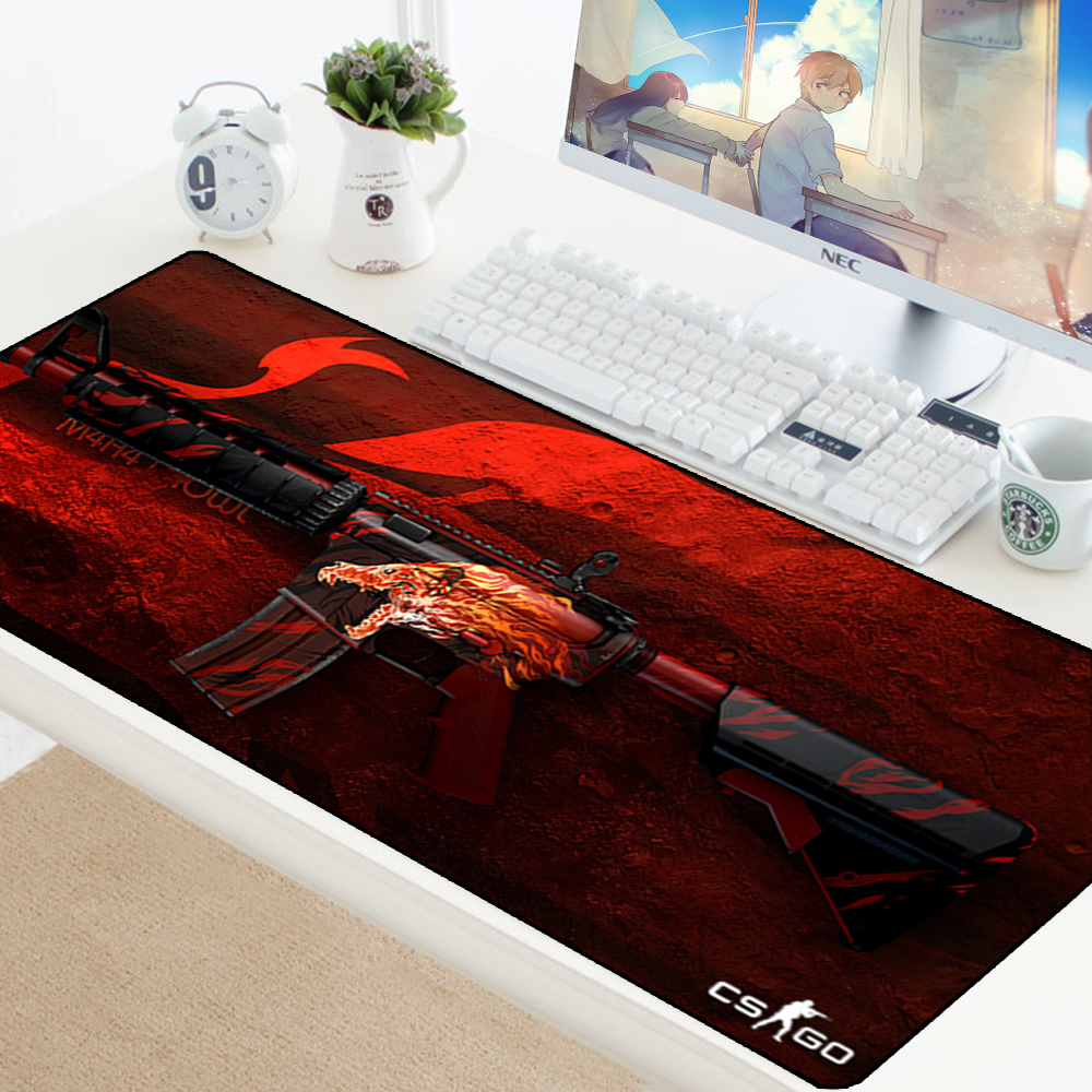 Image 4 - Large Game Mouse Pad Mat Laptop Gaming Mousepad Anti slip Natural