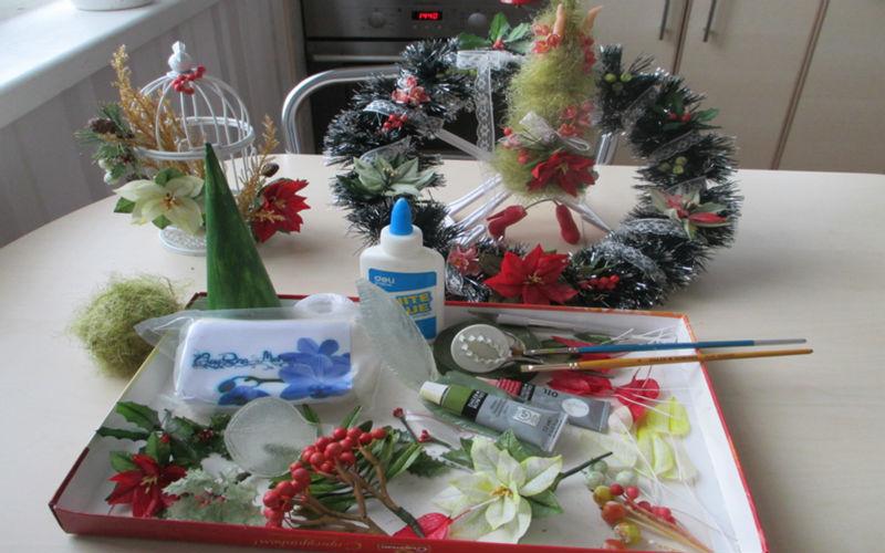 CLAYRIN MEIHON skulptura iz polimerne gline / kruhov cvet DIY / - Dekor za dom - Fotografija 5