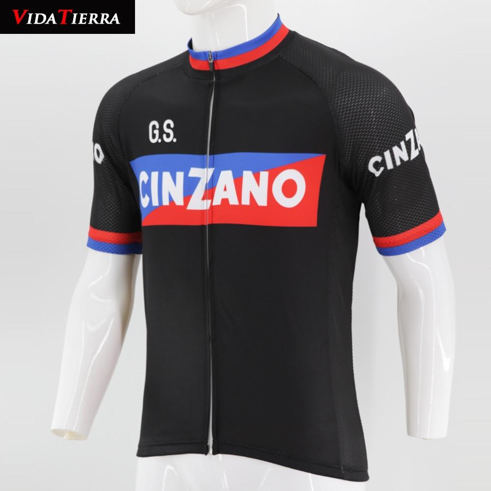 2019 VIDATIERRA men cycling jersey Retro classic black Clothing Bike Wear  road mountain Maillot Ropa Ciclismo 166385074