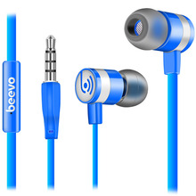 Mobile Phone Earphones Music with Microphone Original Retail box PC Brand Beevo EM330