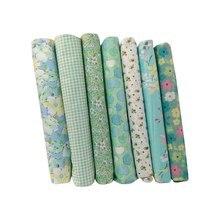 fb4953f1ca Tecido De Algodão Para Patchwork Costura Pano Macio Hoomall Handmade Tecido  Brocado Bordado Pequena Flor Quebrada