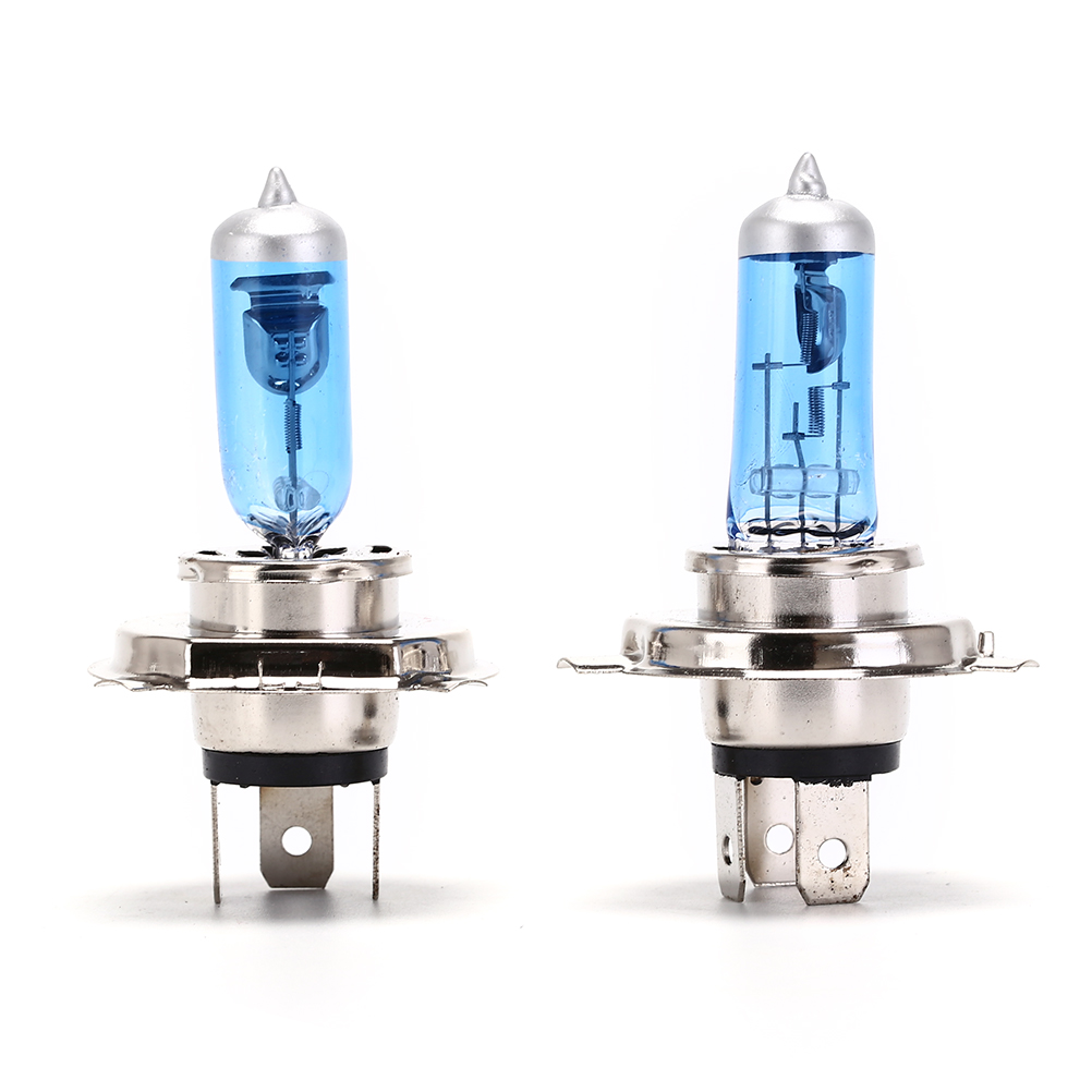 hippcron h1 halogen bulbs rainbow ion blue 2pcs 12v 55w 3700k 1700lm auto headlight car fog lamps quartz glass 2pcs/lot Car Light Bulbs DC 12V H4 Headlight Car Xenon Halogen 55W/ 100W Auto Light Cars Fog Halogen Bulb