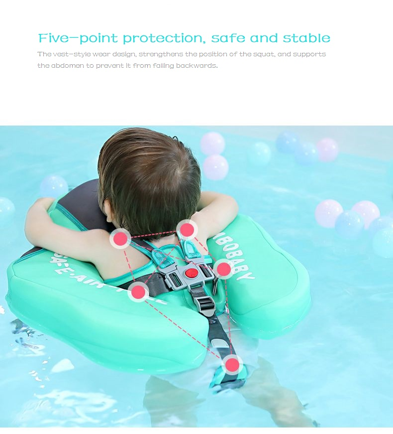 Baby Swimming Ring Solid No Inflatable Safety For accessories floating Floats Swimming Pool Toys (8)