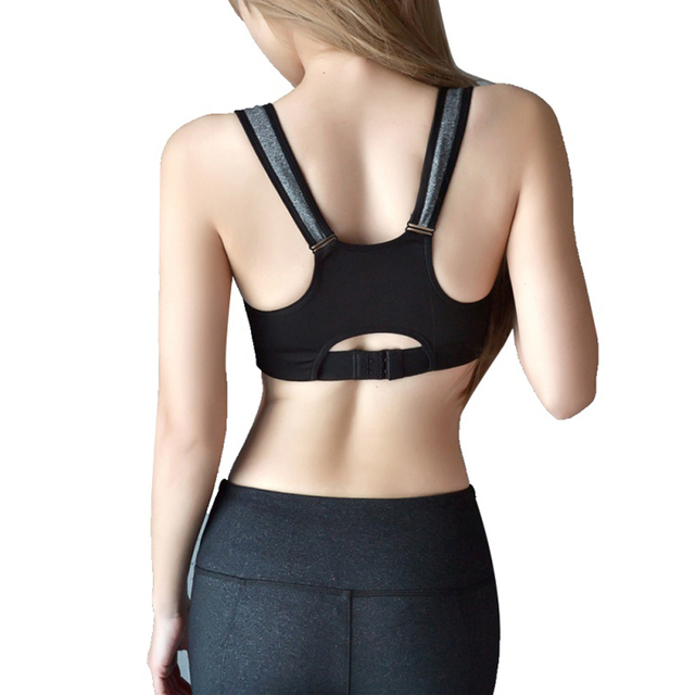 NEW Women Cotton Yoga Fitness Workout Tank Top Vest Seamless Racerback Gym Sports Bra Shaper Corset Underwear Top