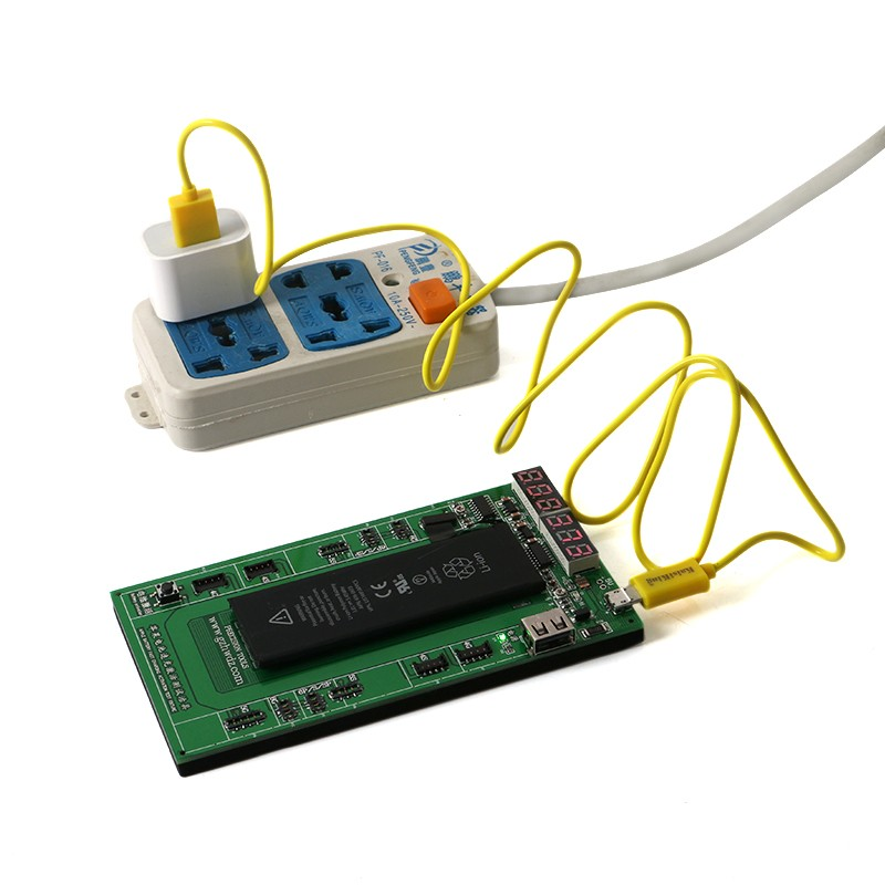 Ricarica della batteria e attivazione del pannello della scheda con - Set di attrezzi - Fotografia 6