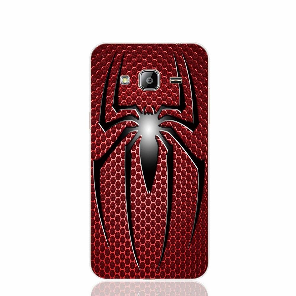 19391 Spiderman <font><b>Spider</b></font> <font><b>Man</b></font> <font><b>logo</b></font> cell phone case cover for <font><b>Samsung</b></font> <font><b>Galaxy</b></font> J1 <font><b>MINI</b></font> J2 J3 J7 ON5 ON7 J120F 2016 2015