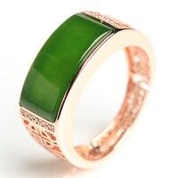Классический мост поверхности человек кольцо новый 925 Серебряный декор и Тянь Ю. кольцо/