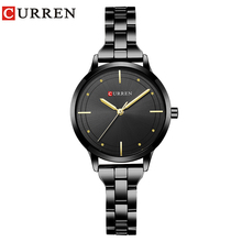 CURREN Fashion Womens Wrist Watches with Gold Watchband Top Luxury Brand Ladies Jewelry Bracelet Clock Female Relogio Feminino