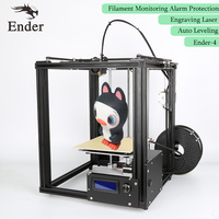 Upgrade Auto Leveling Ender 4 3D Printer Laser Auto Leveling Filament Monitoring Alarm Prusa I3 Printer