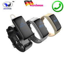 Sensible Band Talkband Bluetooth Watch Bracelet DF22 Moveable Speak Smartband Pedometer Energetic Health Tracker For IOS Android Cellphone