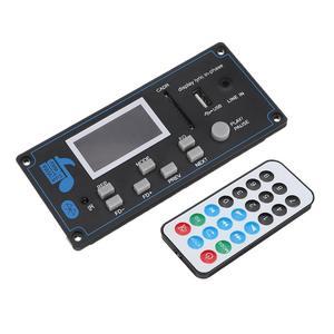 Image 2 - Tablero de audio MP3 para coche de 9 12V CC, con bluetooth, USB, SD, FM, AUX, decodificador, módulo MP3 WMA, altavoz DIY, Amp, Teatro en Casa