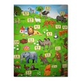 Game Crawlings Double 200*180*0.5CM Children's Zoo Environmental Climbing Pad Baby Game Crawling Pad Customized